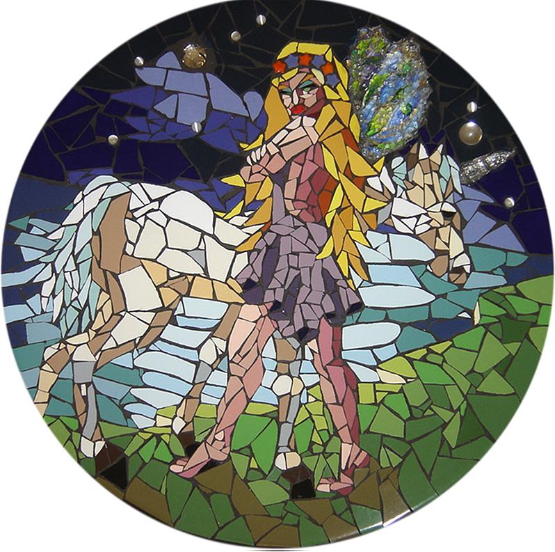 A Fada - Mosaico - Cláudia Verônica