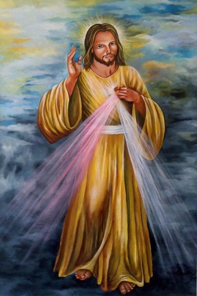 Jesus - Acrílica sobre Tela - Cláudia Verônica