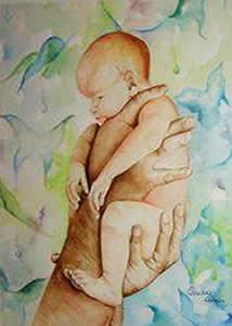 Meu Filho - Aquarela - Cláudia Verônica