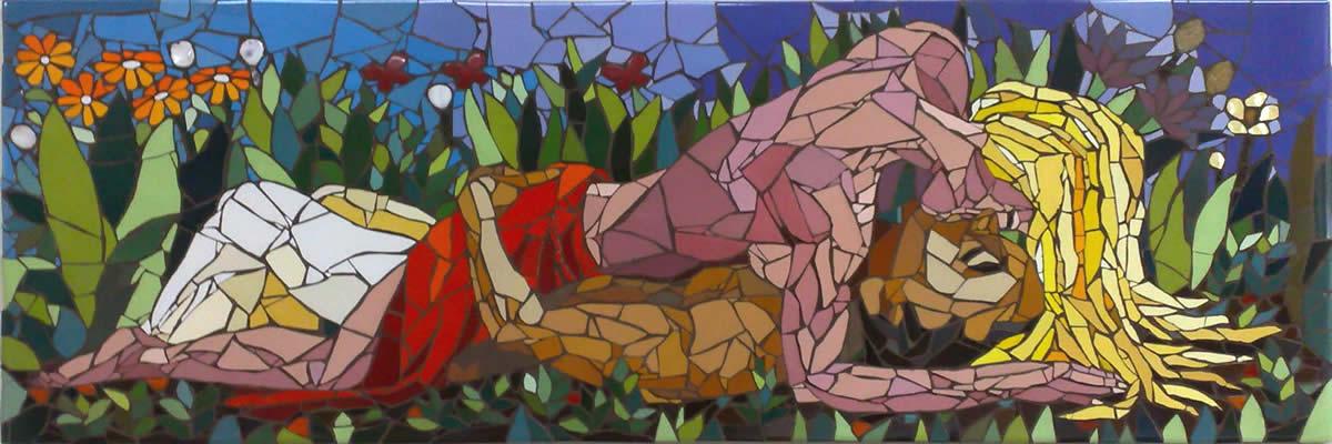Momentos - Mosaico - Cláudia Verônica
