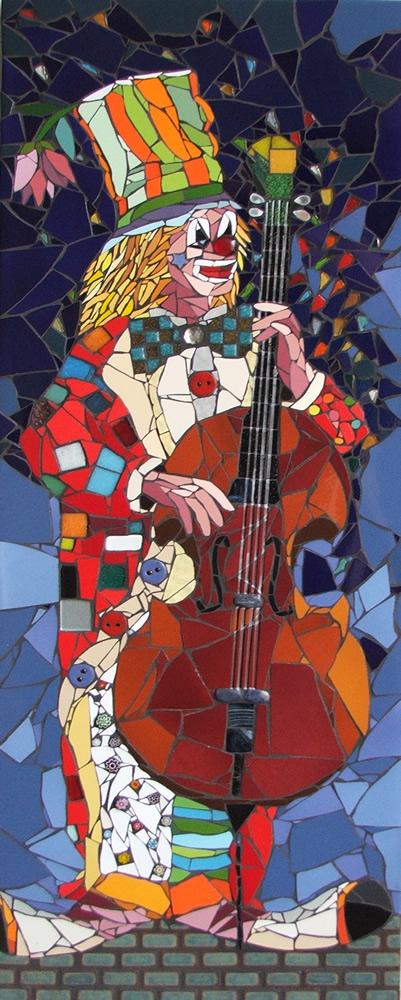 O Som do Palhaço - Mosaico - Cláudia Verônica