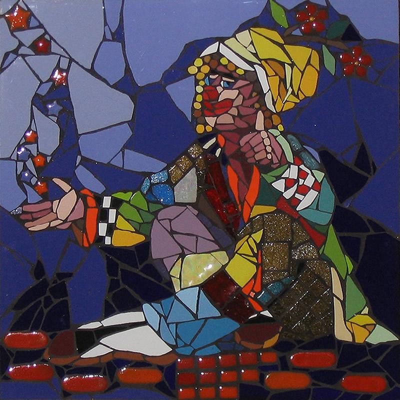 Palhaço - Mosaico - Cláudia Verônica