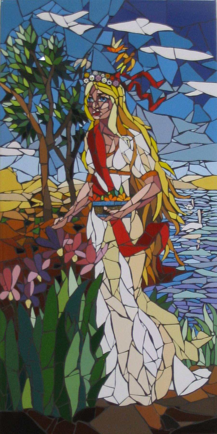 Temperança - Mosaico - Cláudia Verônica