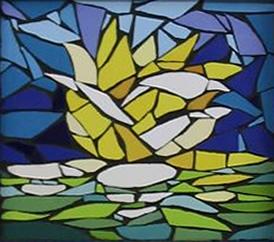 Flor de Lótus - Mosaico - Claudia Verônica