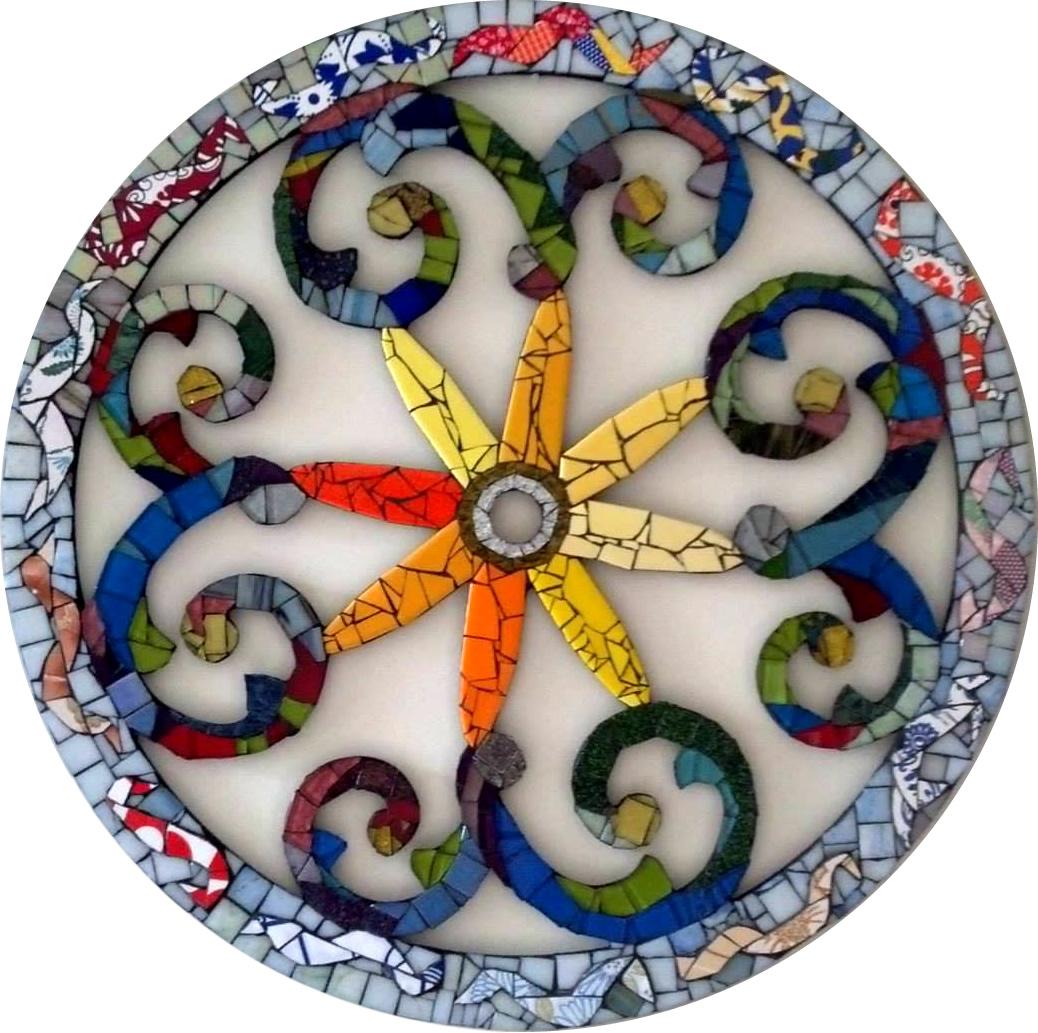 Mandala - Mosaico - Cláudia Verônica